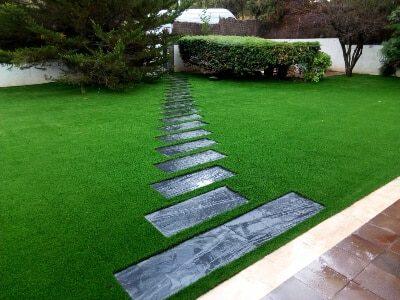 Césped artificial Supreme imagen jardín