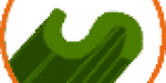 Hilo césped artificial forma S
