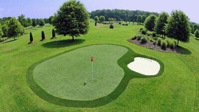 césped artificial deportivo golf PGA y entrenamiento