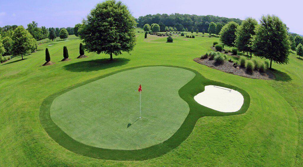 césped artificial deportivo golf para campo profesional y clubs de golf