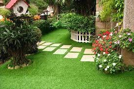 césped artificial decorativo para jardines y zonas públicas
