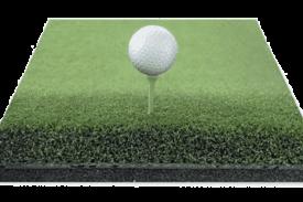 césped artificial para golf teee gran duración
